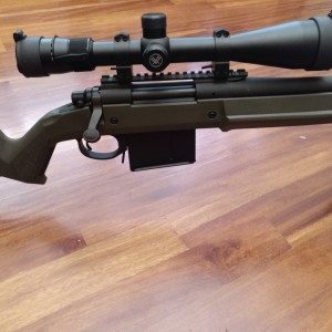 RIFLE REMINGTON 700 POLICE MLR 338 LAPUA MAGNUM