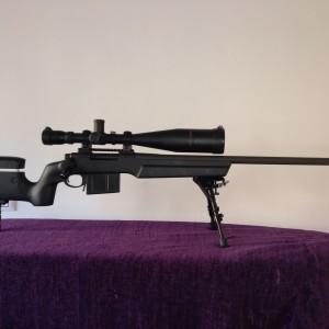 Rifle Remington 700 police MLR cal. 338 Lapua Magnum táctico