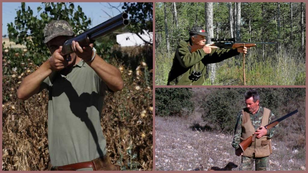 Rifles y escopetas de alta calidad - Cazadores con armas