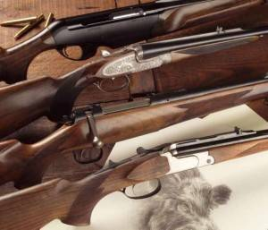 Tienda de rifles y escopetas