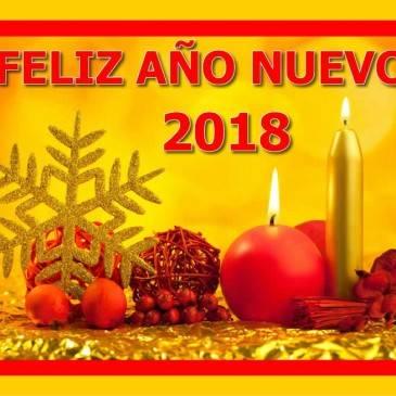 IV Armas y Munición les desea un Feliz 2018
