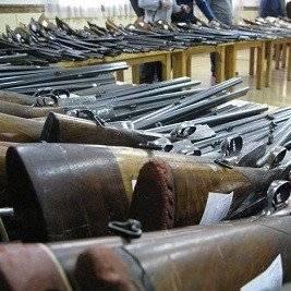 Armas inutilizadas
