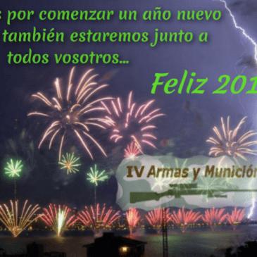 IV Armas y Munición os desea un próspero 2017